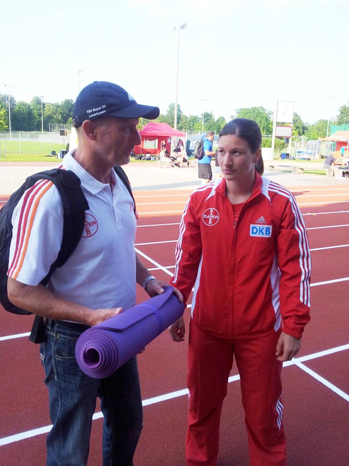 Linda Stahl und Helge Zöllkau